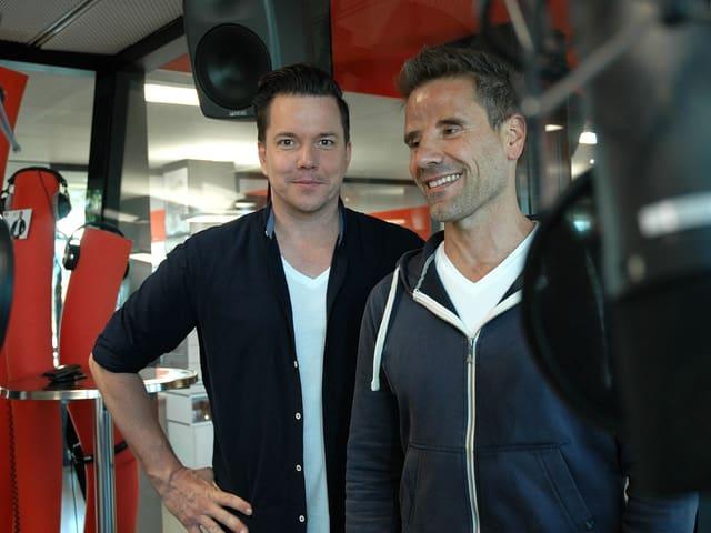 Sven Epiney und Patrick Meister.