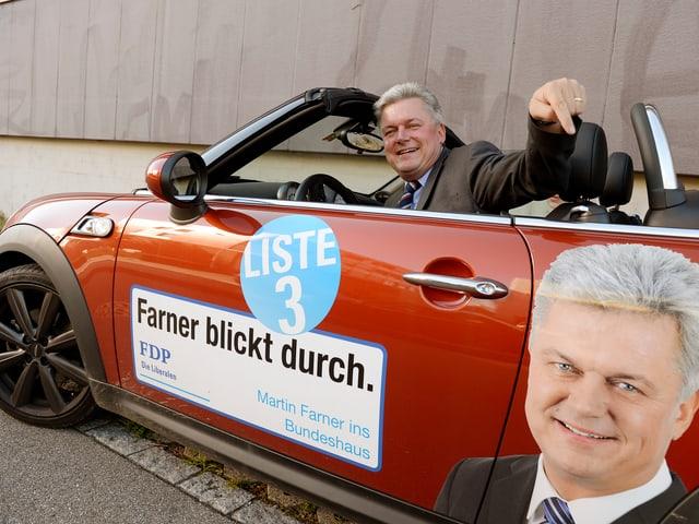 Martin Fahrner, 54-jährig, Kantonsrat seit 2008, Gemeindepräsident Oberstammheim, Agrarunternehmer, verheiratet, Vater von drei Kindern.