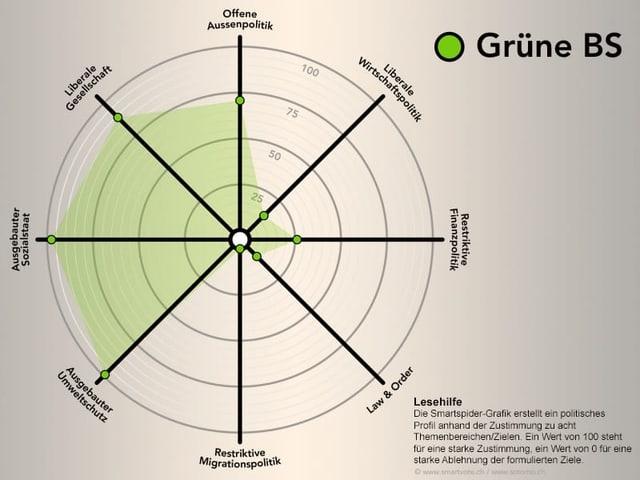 Smartspider Grüne