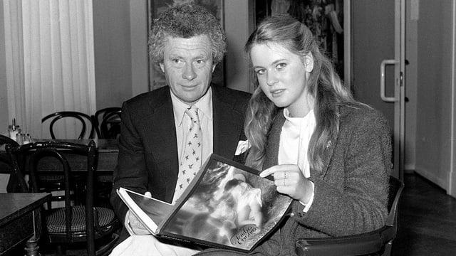 David Hamilton und Anja Schütte