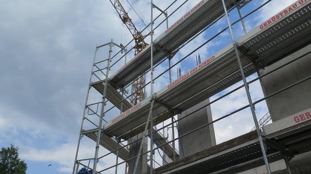 Baustelle im Aargau