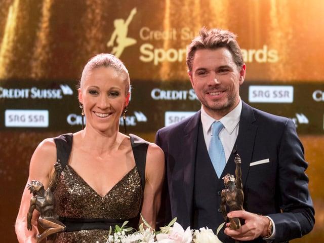 Wawrinka und Ryf sind die Sportler des Jahres.