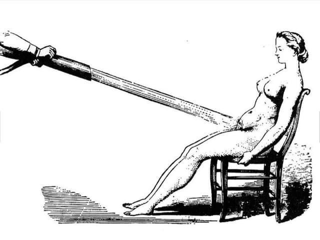 Beckendusche um 1752