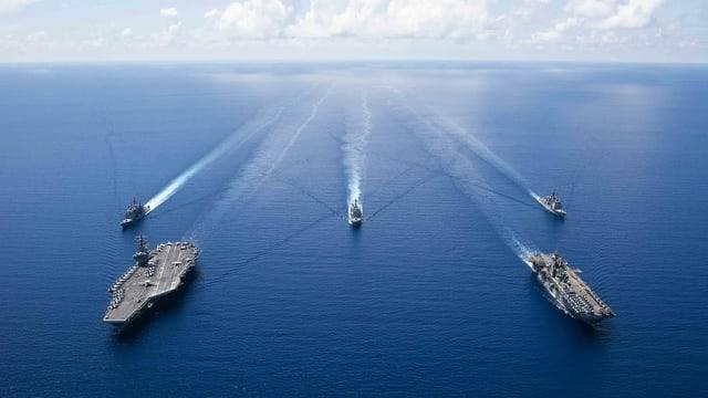 US-Navy-Schiffe.