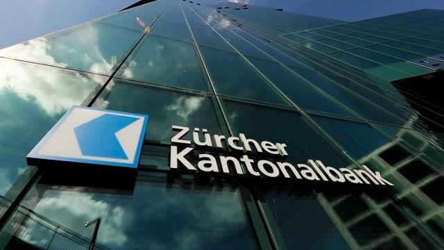 Logo der Zürcher Kantonalbank am Prime Tower