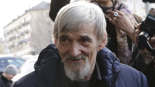 Der Historiker Jurij Dmitriev ist hat den Gulag und die Stalin-Opfer in Nordrussland untersucht.