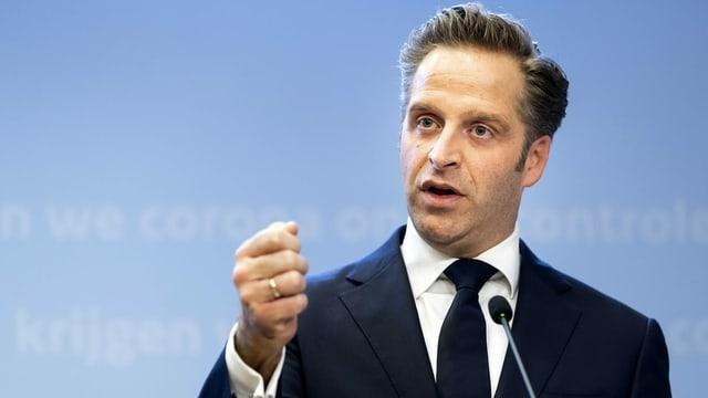 Der niederländische Gesundheitsminister Hugo de Jonge.