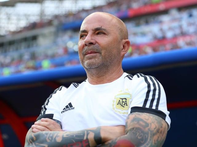 Jorge Sampaoli ist nicht länger Coach der argentinischen Nationalmannschaft.