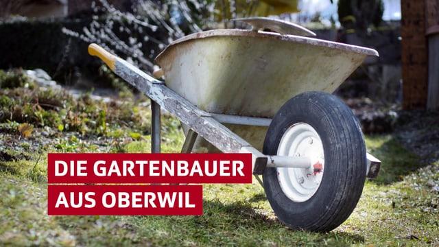 «Die Gartenbauer aus Oberwil» - Eine abenteuerlustige WG aus dem Kanton Zug wagt das grosse Gartenumbau-Abenteuer.