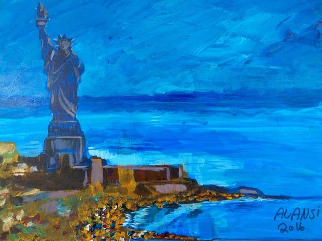 Bild der Freiheitsstatue von Muhammad Ansi.