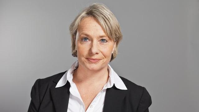 CVP-Nationalrätin Elisabeth Schneider unterstützt den SVP-Kandidaten Thomas Weber.