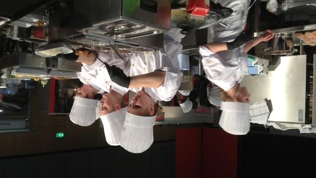 Ostschweizer Nachwuchsköche kochen an der OFFA Spezialitäten aus der Ostschweiz.