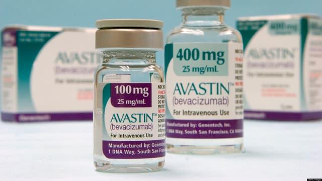 Foto von Avastin-Produkteverpackungen