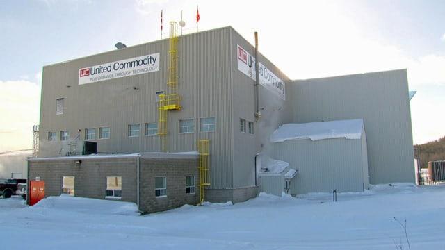 Gebäude von United Commodity in Kanada.