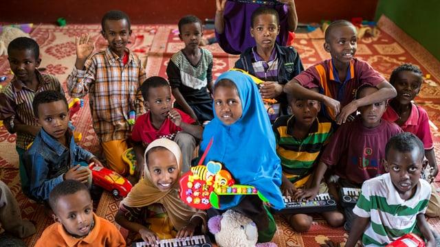 Uffants da l'Etiopia.