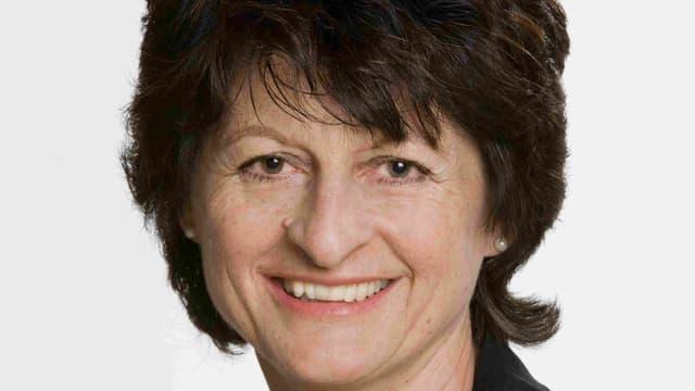 La deputada da la PCD en il Cussegl grond Silvia Casutt-Derungs.