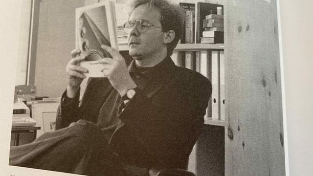 Purtret da Mariano Tschuor, legend ina revista