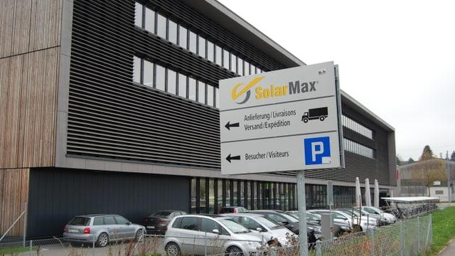 Der Firmensitz des Unternehmens in Biel.
