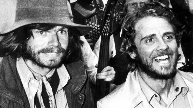 Reinhold Messner und Peter Habeler.