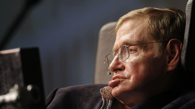 Porträt von Stephen Hawking