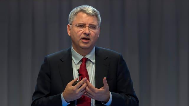 Roche-Konzernchef Severin Schwan
