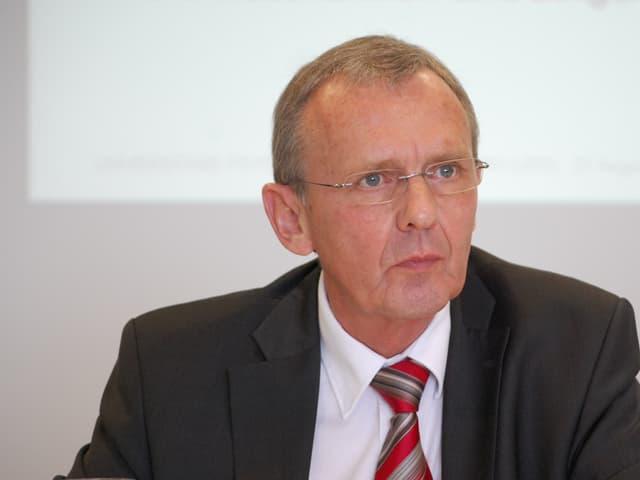 Regierungsrat Philippe Perrenoud, Gesundheitsdirektor Kanton Bern.