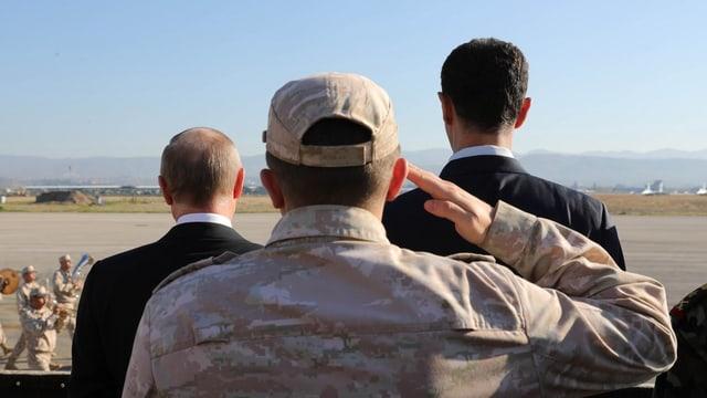 Assad und Putin, Seite an Seite: