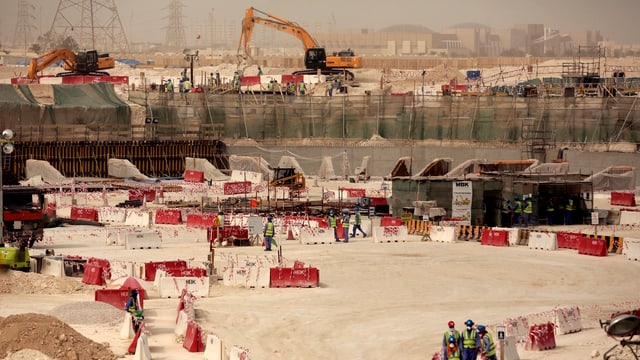 Plazzal en il Katar.