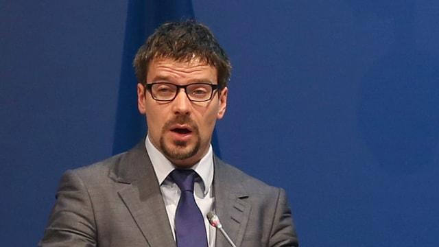 Finnischer Umweltminister Ville Niinisto