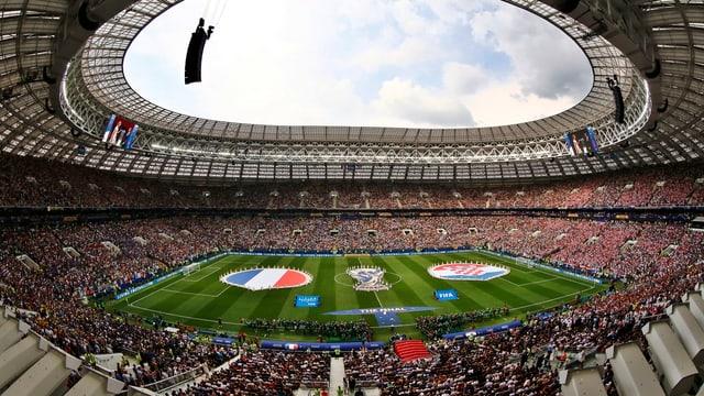Purtret dal stadion da ballape da Moscau.