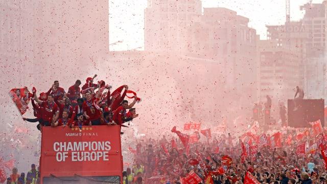 Empfang von Liverpool