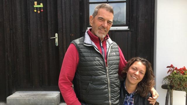 Franco e Francesca Giani.