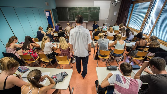 Ein Schulklasse