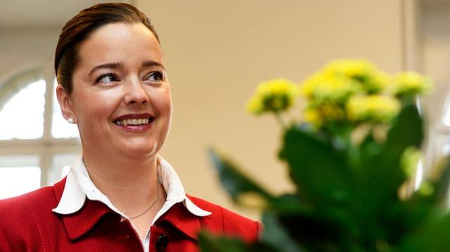 Die Thurgauer Baudirektorin Carmen Haag (CVP).