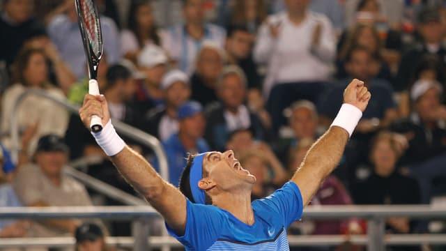 Juan Martin Del Potro ist zurück auf der ATP Tour.