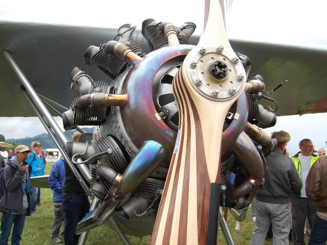 Propeller aus Holz
