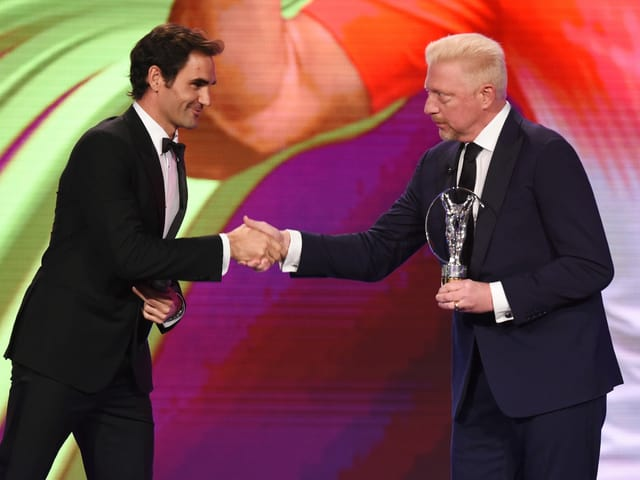 Boris Becker Roger Federer
