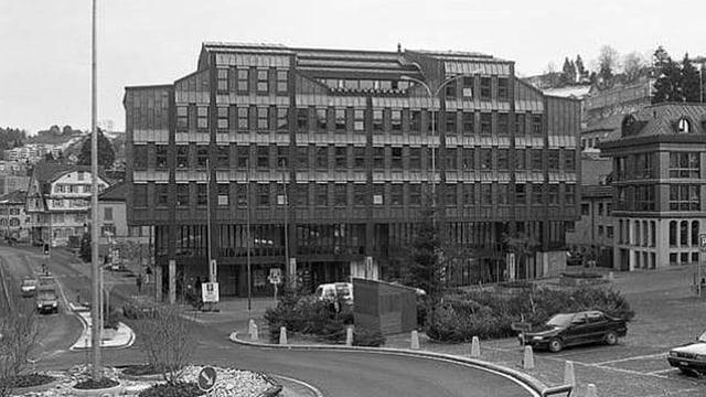 Im ehemaligen KB-Gebäude in Herisau hat heute die UBS ihre Geschäftsstelle.