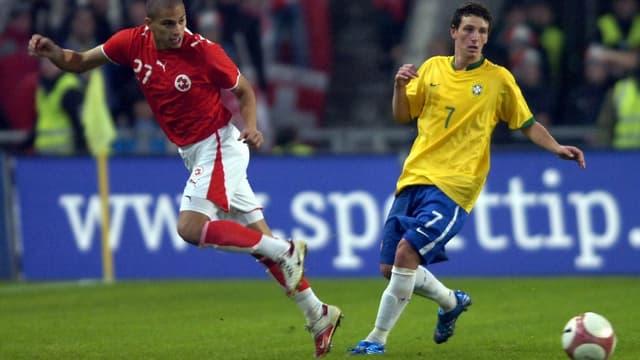 Die Schweiz ist momentan vor Brasilien am Ball.