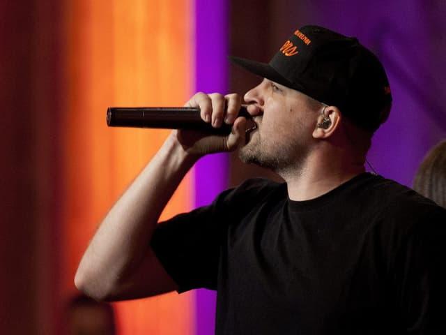 Ist in den Kategorien «Best Album Urban National» und «Best Live Act» nominiert: Der Rapper Stress.