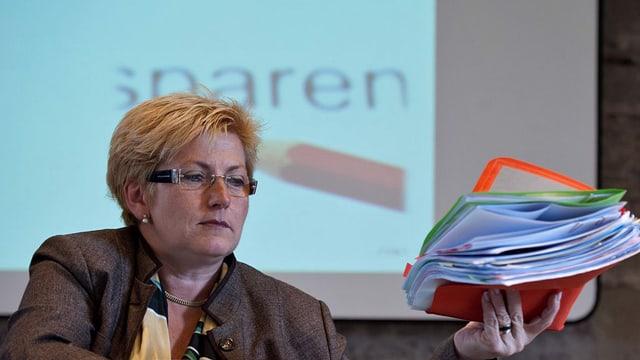 Beatrice Simon will die Finanzen des Kantons Bern im Griff haben.