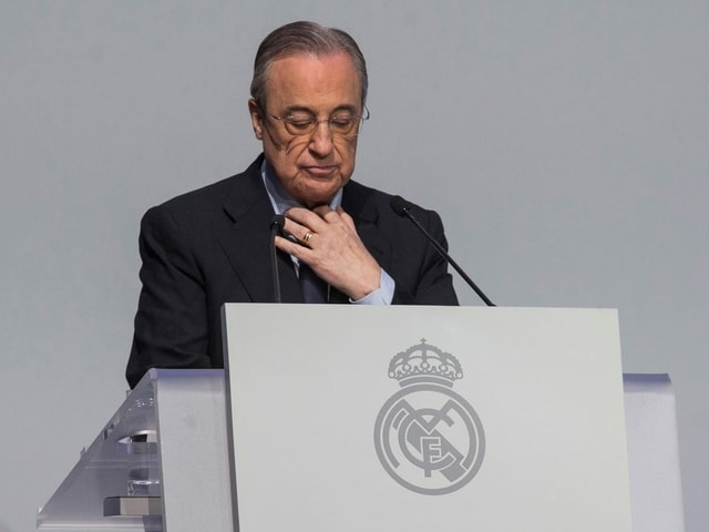Real-Präsident Florentino Perez.