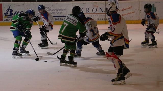 Junioren auf dem Eis