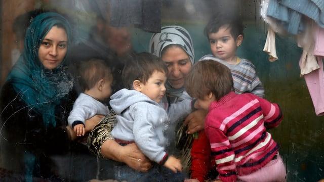Syrische Flüchtlinge 2013