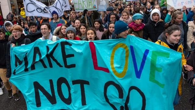 Junge Demonstranten