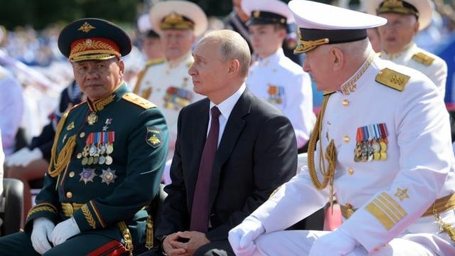 Schoigu und Putin