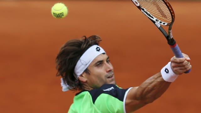 David Ferrer überzeugt in Roland Garros bislang restlos.