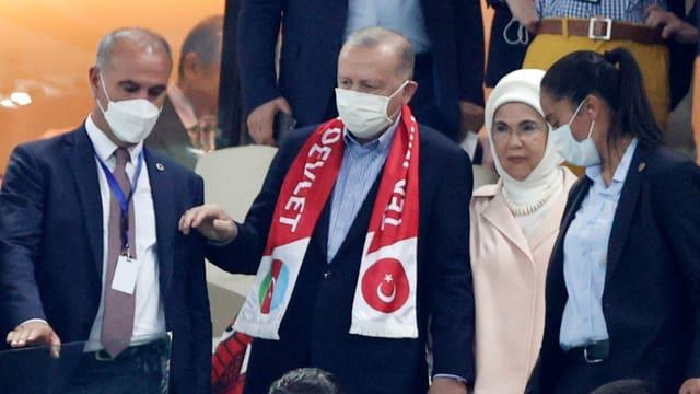Erdogan gibt den Landesvater