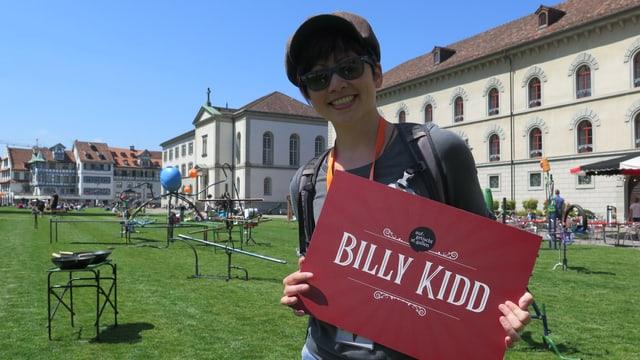 Magierin Billy Kidd