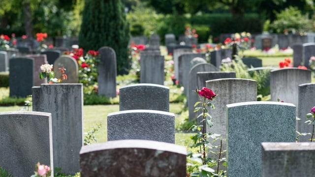Symbolbild: Ein echter Friedhof.